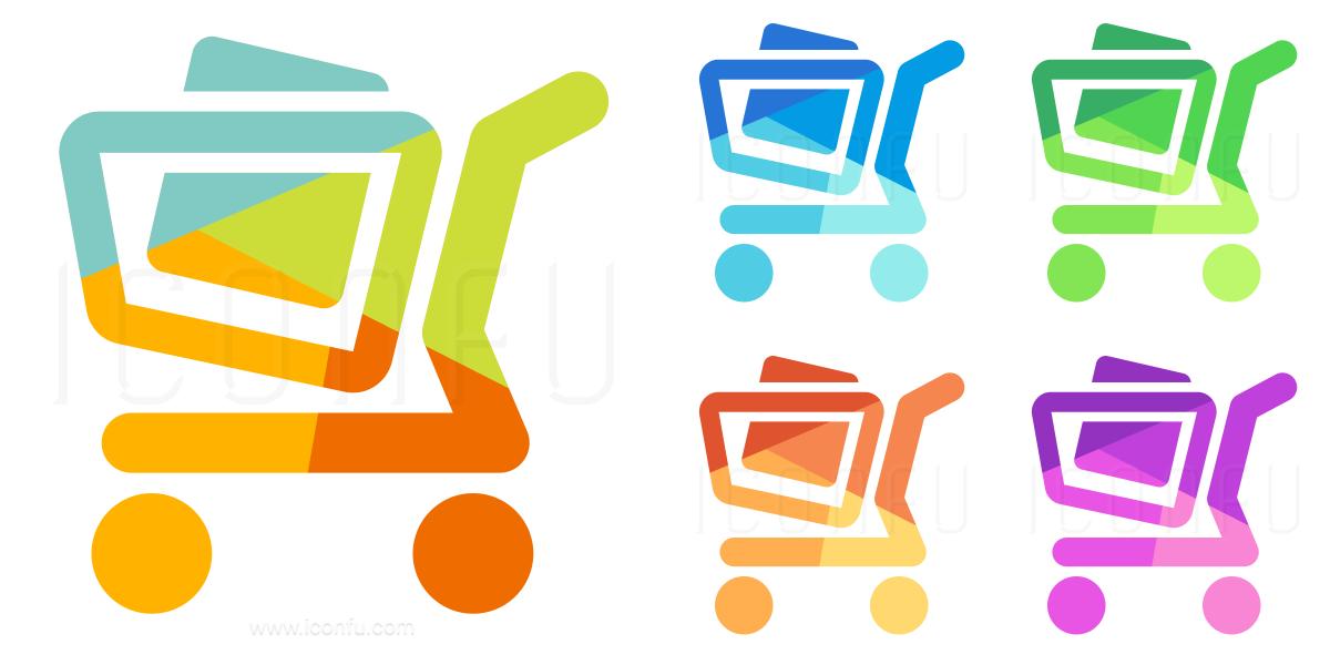 Shopping Cart Full Icon