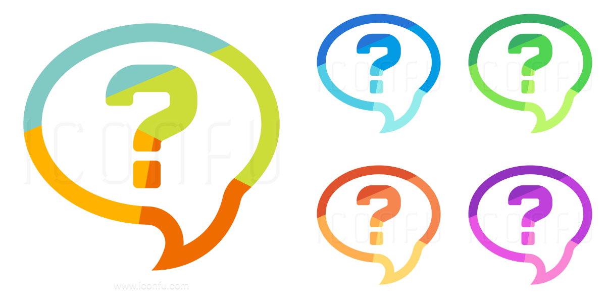Speech Balloon Question Icon
