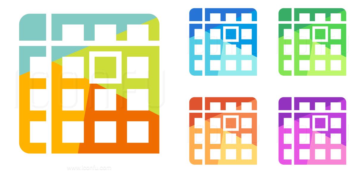 Spreadsheet Cell Icon