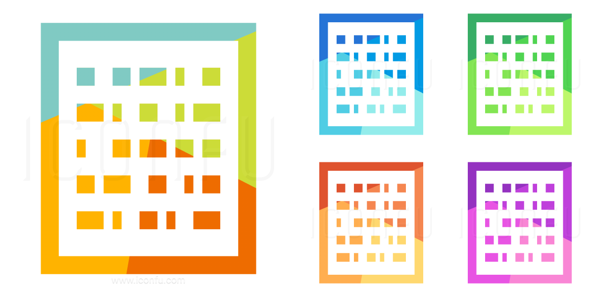 Text Binary Icon