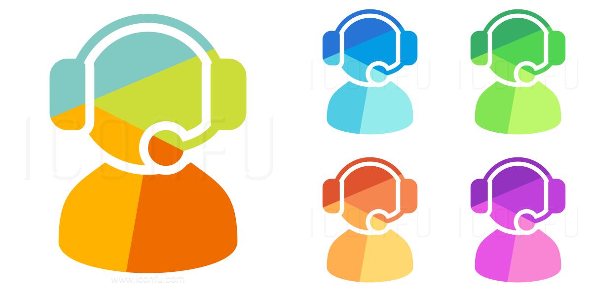 User Headset Icon
