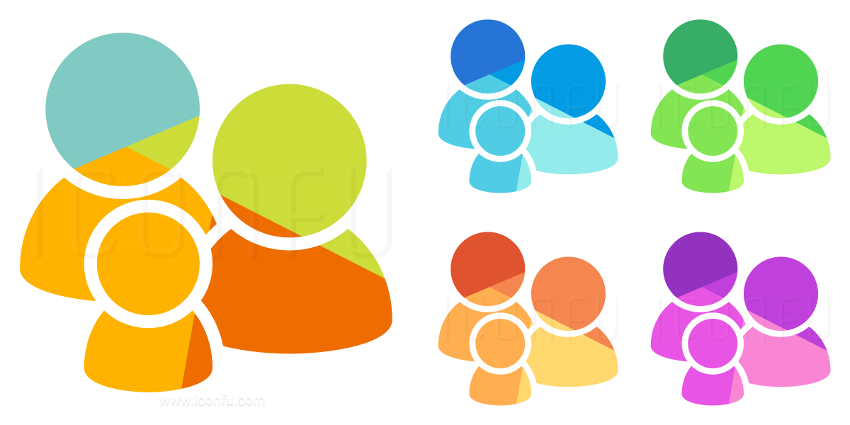Users Family Icon