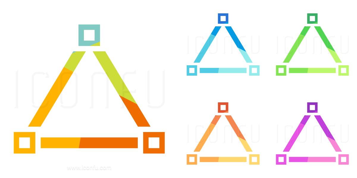 Vector Triangle Icon
