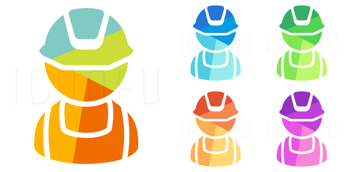 Worker Bib Icon