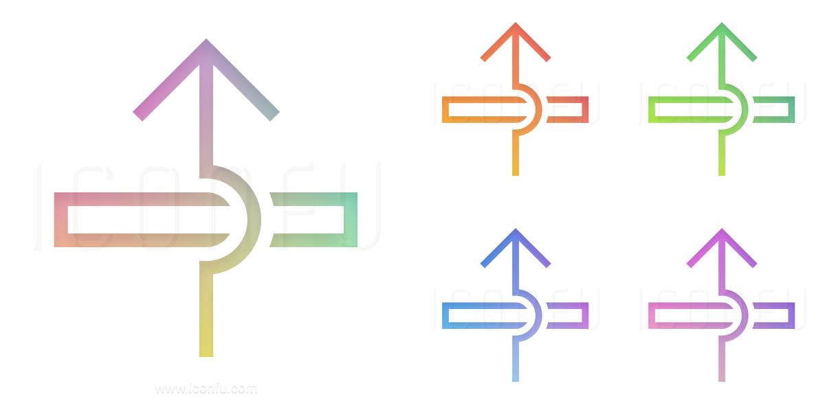 Arrow Over Icon