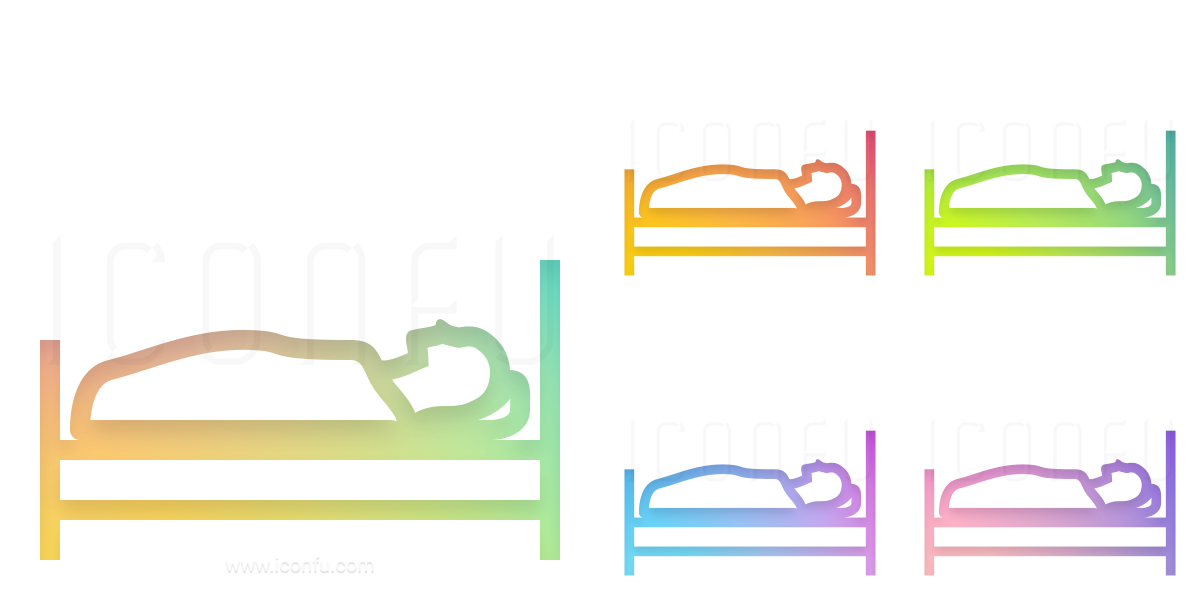 Bed Person Icon