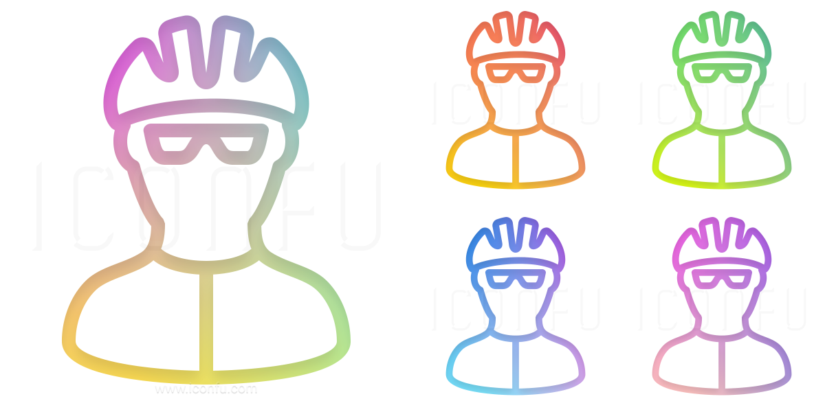 Bicyclist Icon