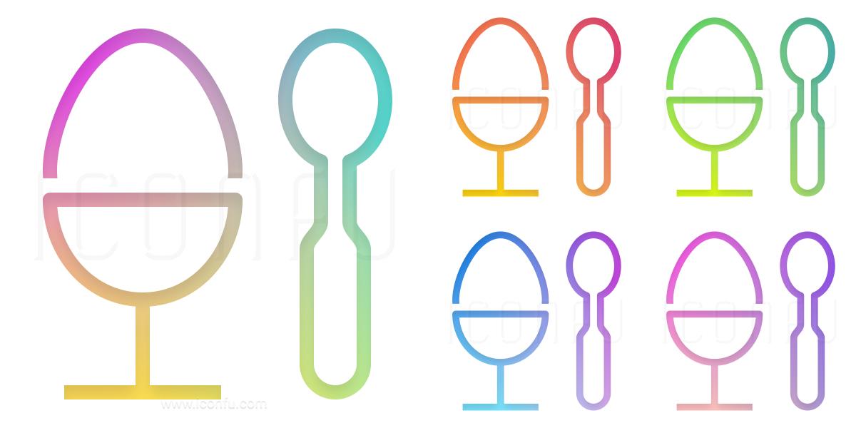 Breakfast Egg Icon