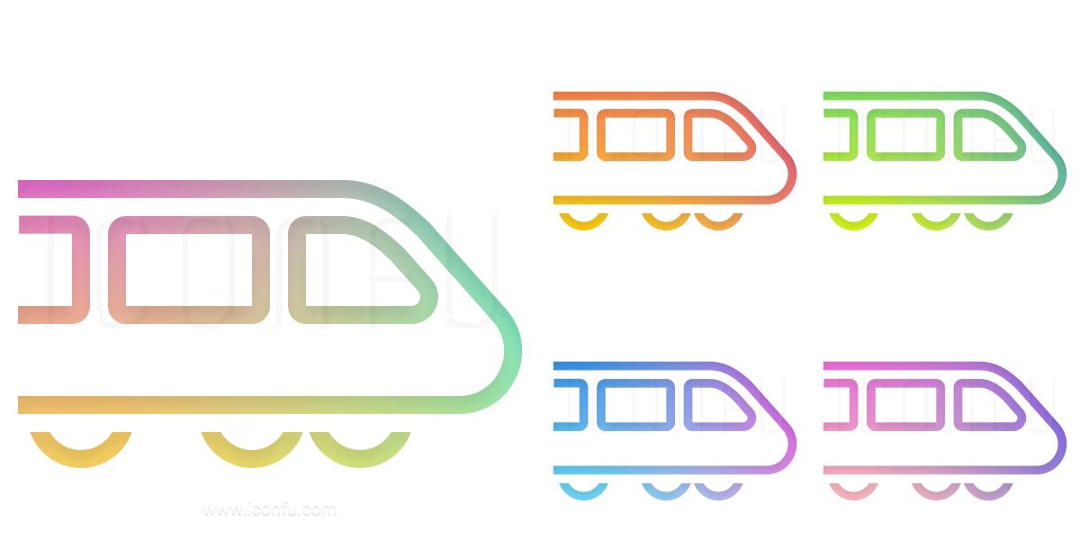Bullet Train Icon