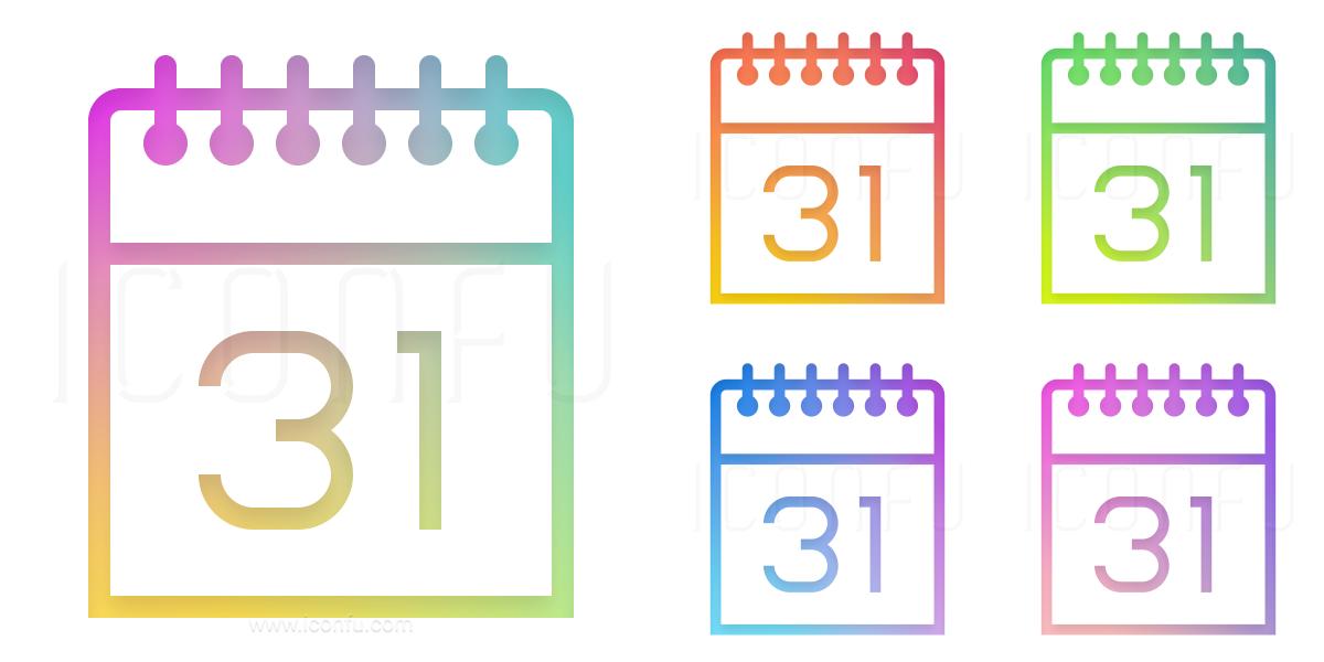 Calendar 31 Icon