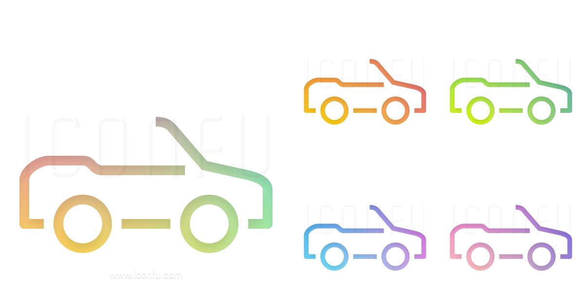 Car Convertible Icon