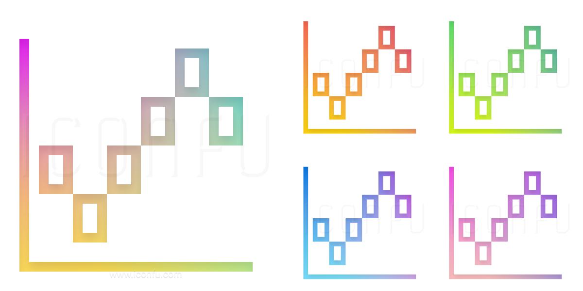 Chart Renko Icon