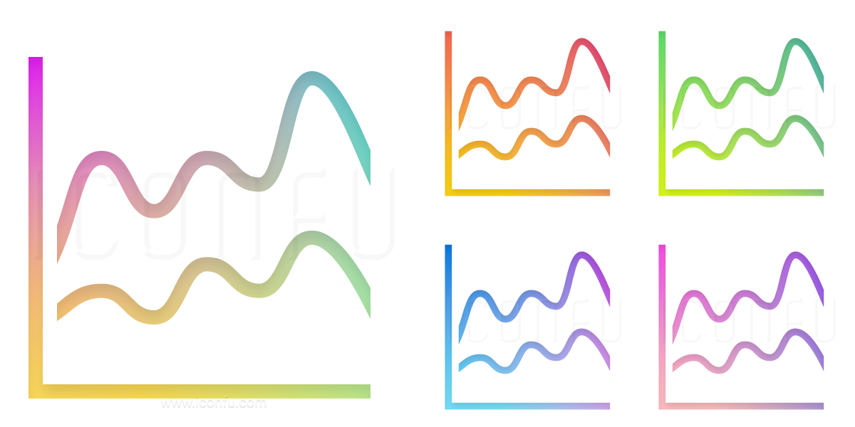 Chart Spline Icon