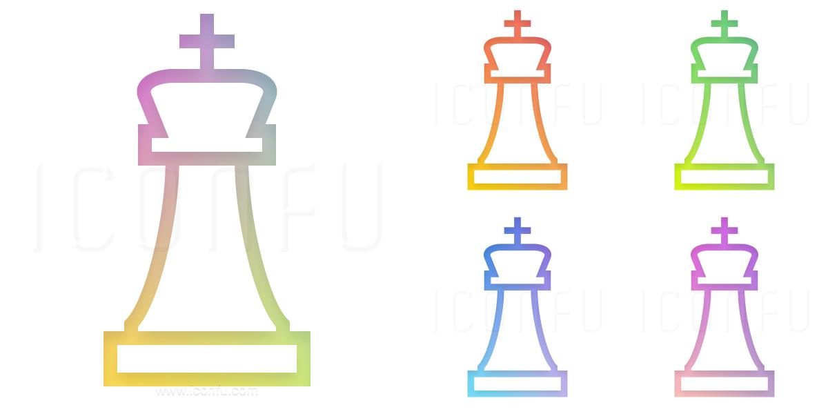 Chess Piece King Icon