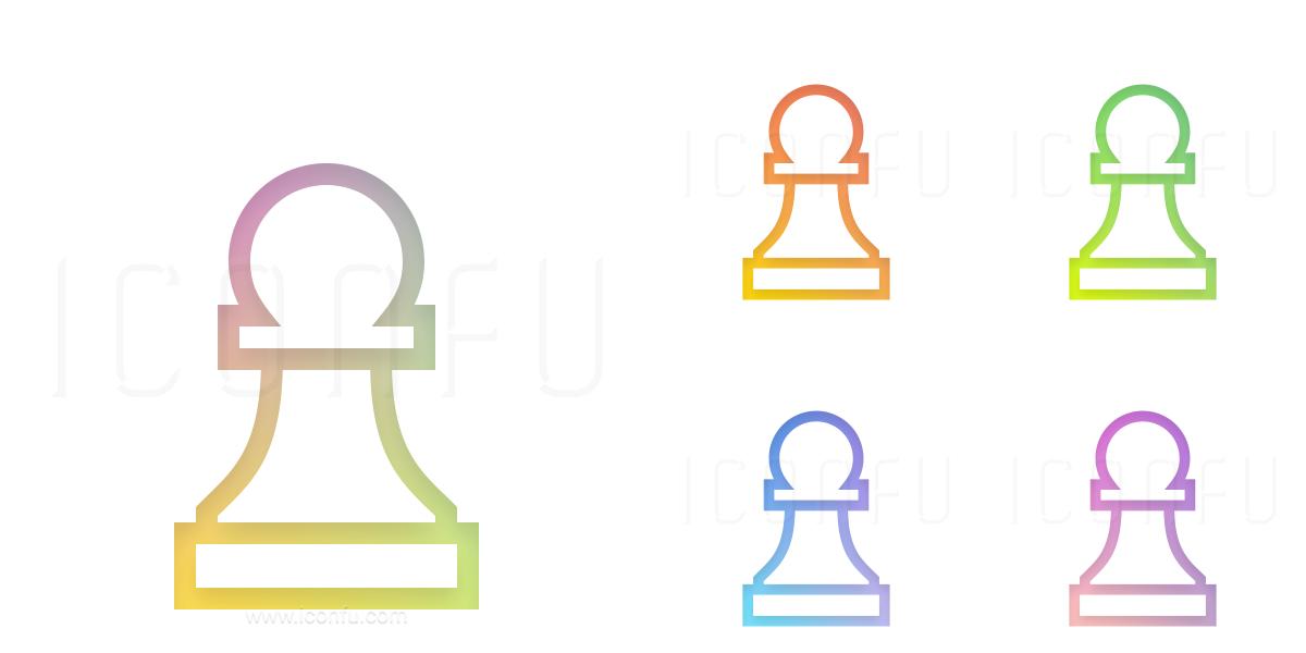 Chess Piece Pawn Icon
