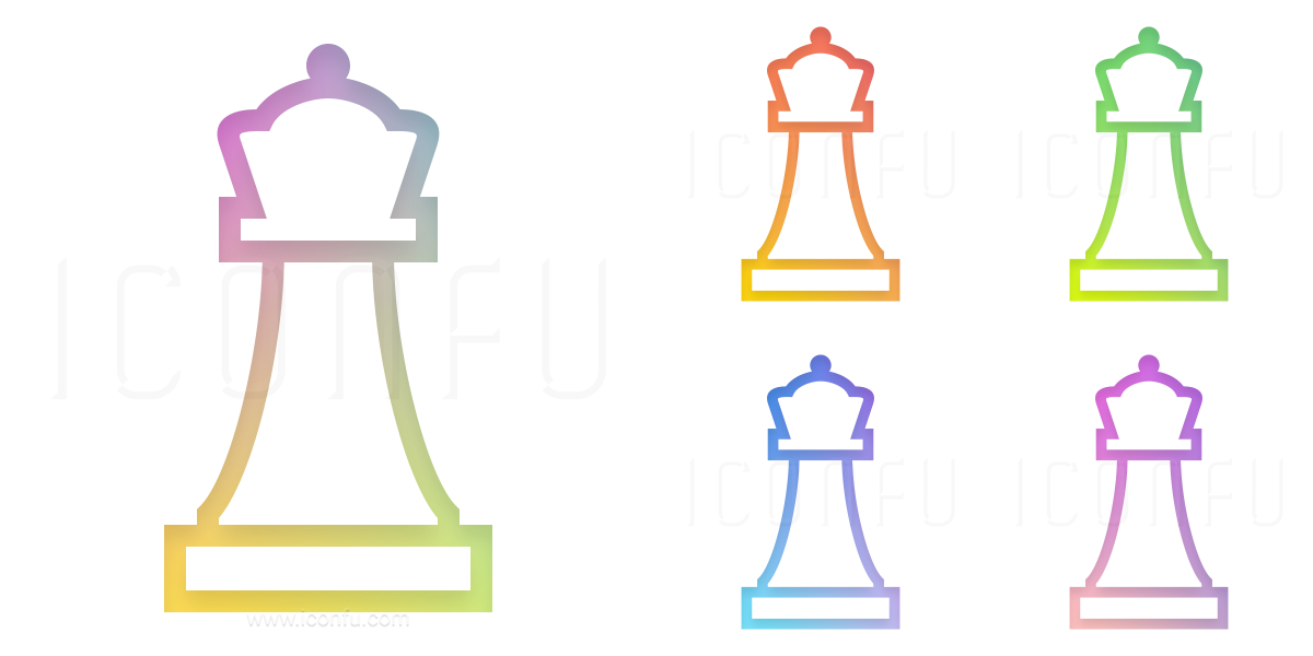 Chess Piece Queen Icon