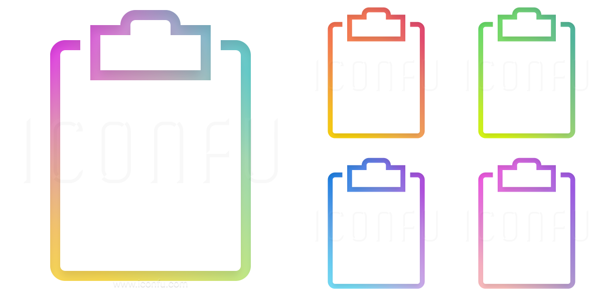Clipboard Empty Icon