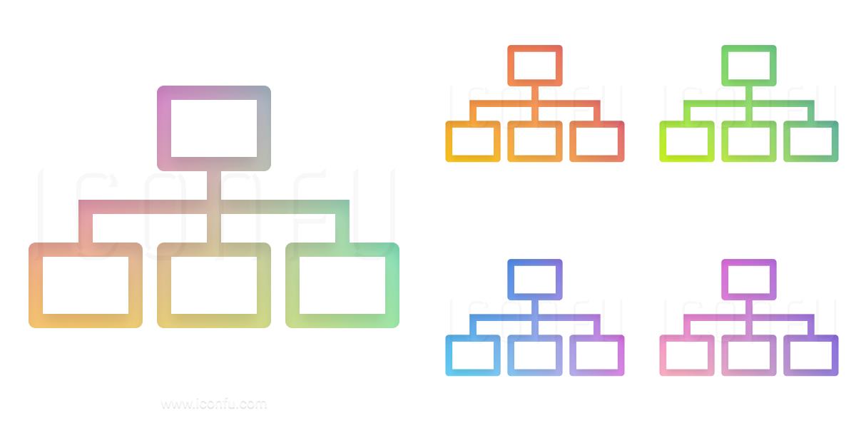 Elements Hierarchy Icon