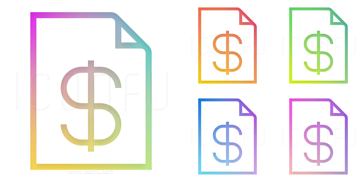 Invoice Dollar Icon