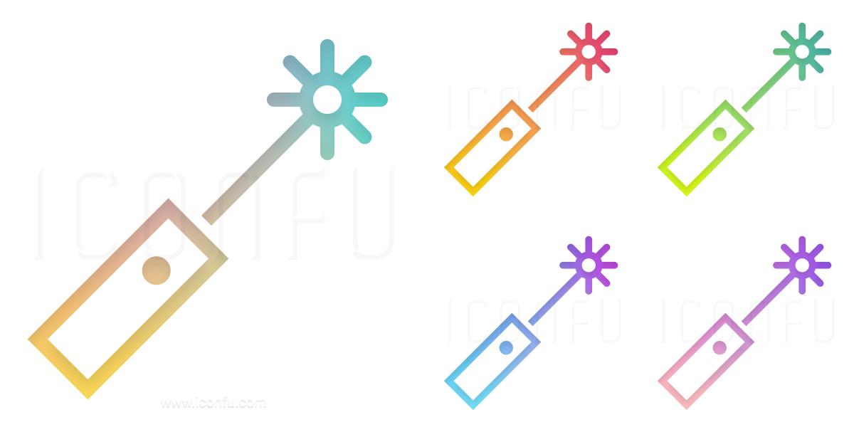 Laser Pointer Icon