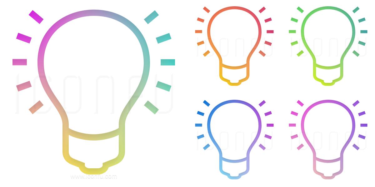 Lightbulb On Icon