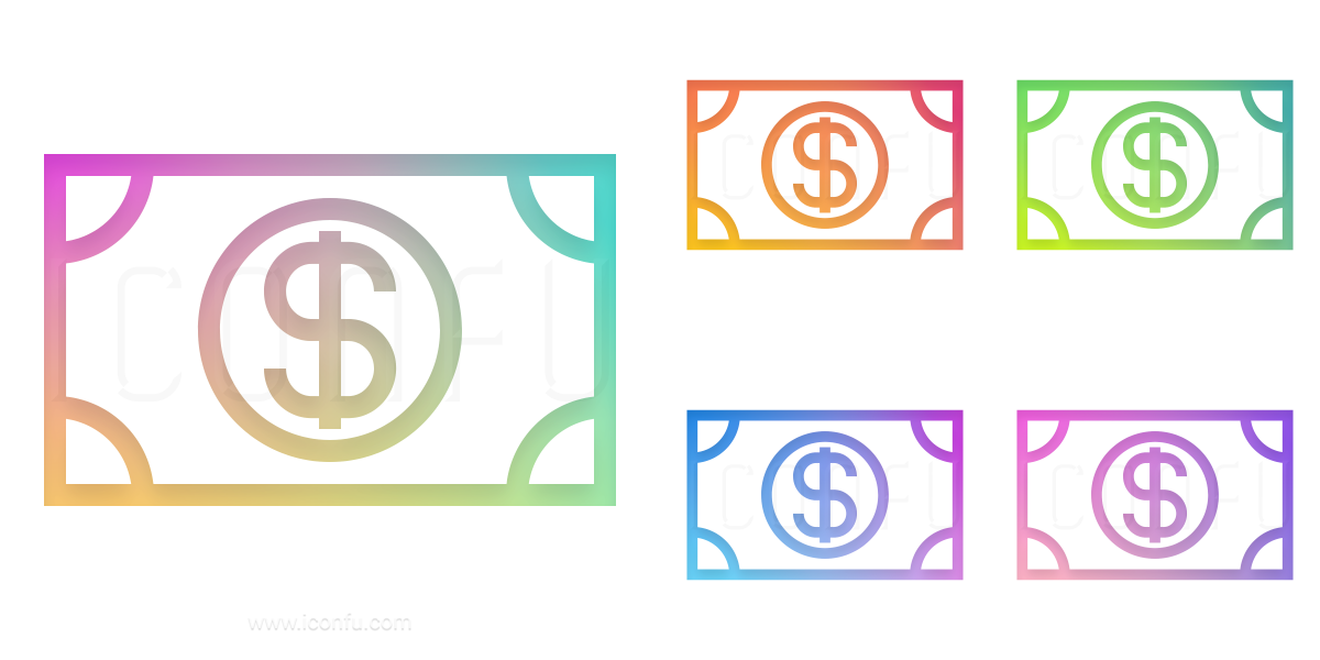 Money Bill Dollar Icon