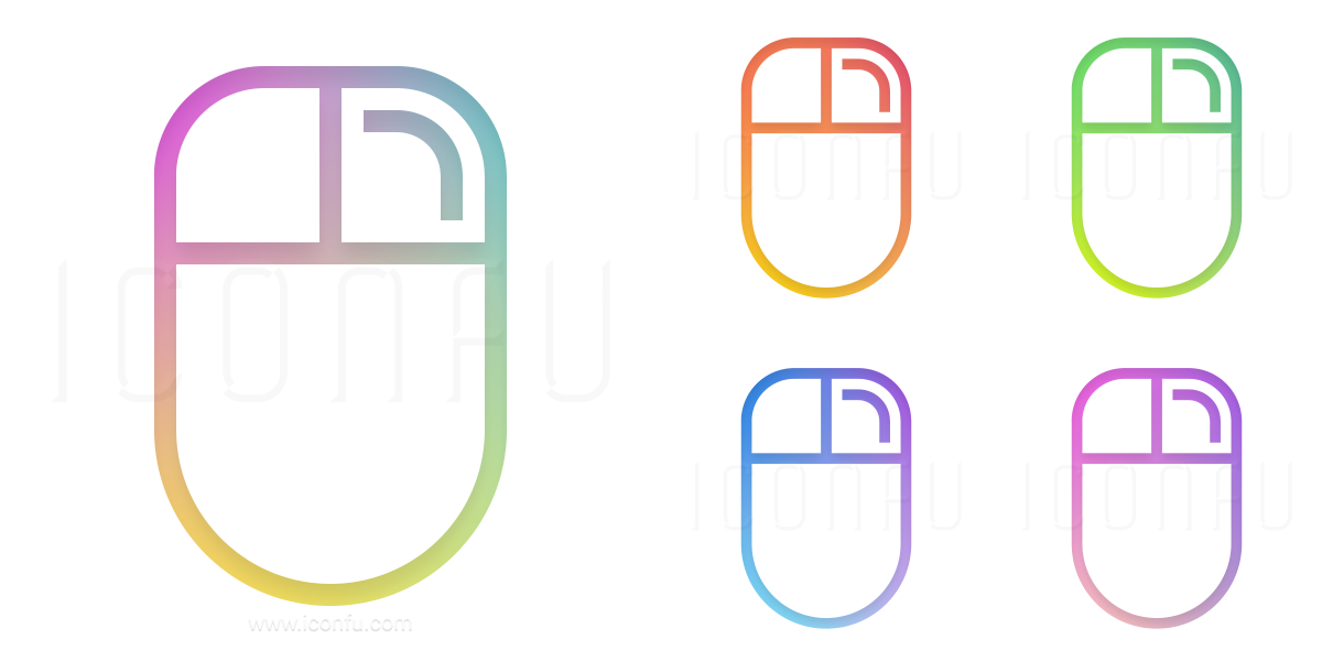 Mouse Right Button Icon