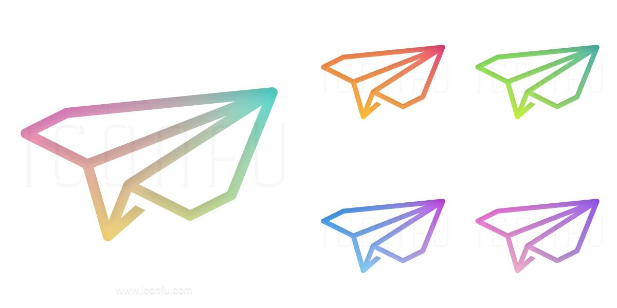 Paper Jet Icon