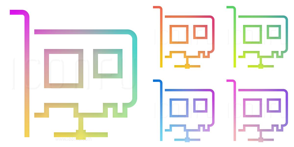Pci Card Network Icon