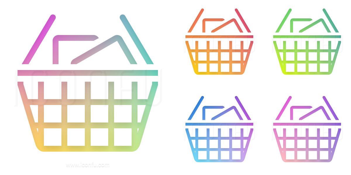 Shopping Basket Full Icon