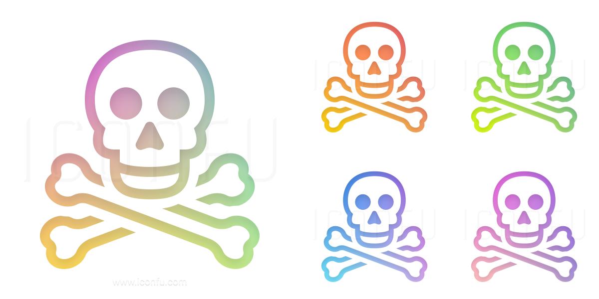 Skull Bones Icon