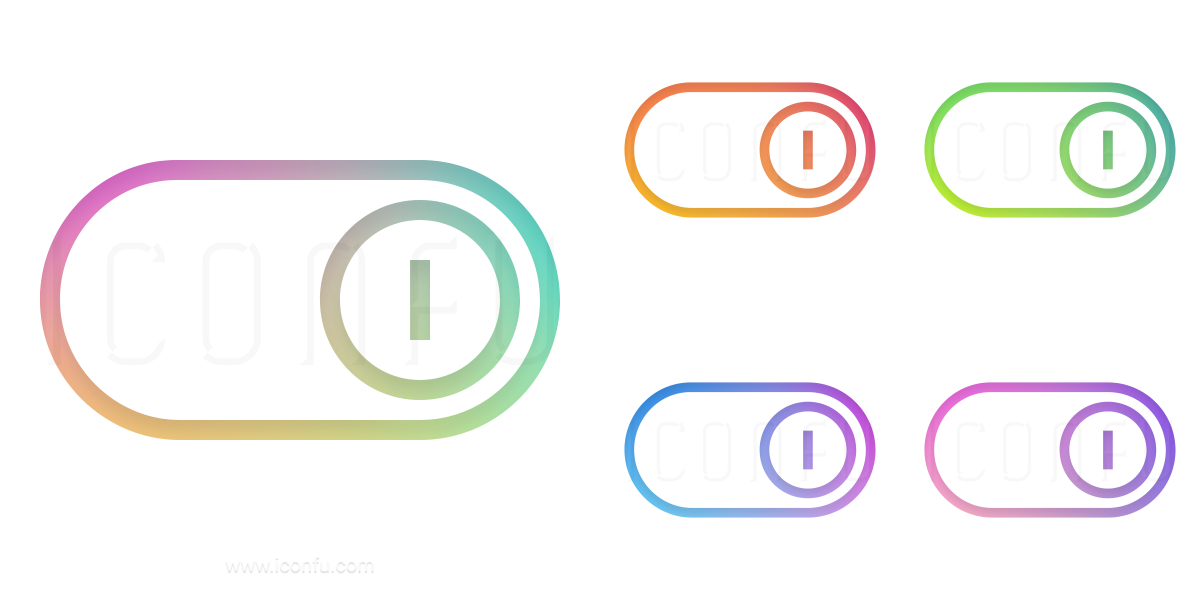Switch Slider On Icon