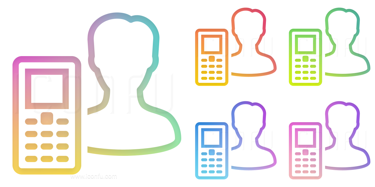 User Mobile Phone Icon