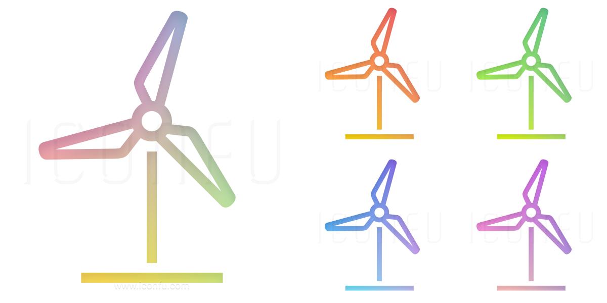 Wind Engine Icon