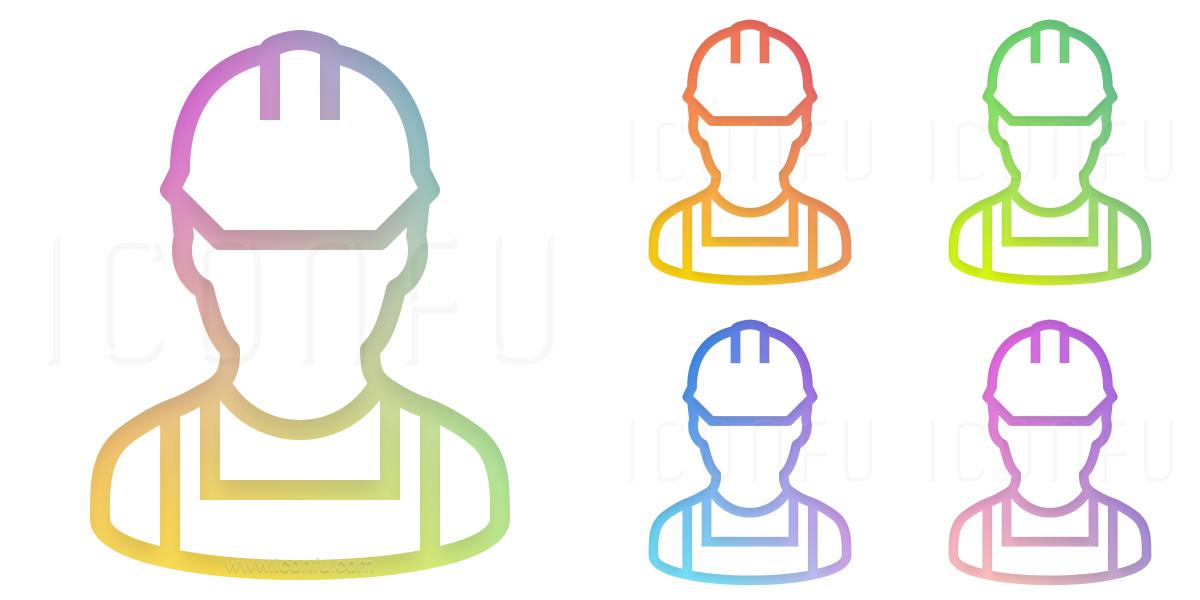 Worker Bib Icon