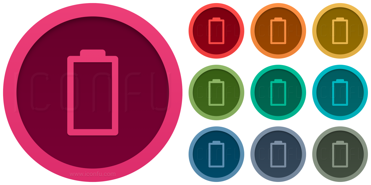Battery 0 5 Icon