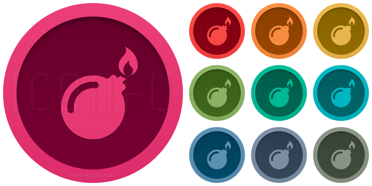 Bomb Fuse Icon