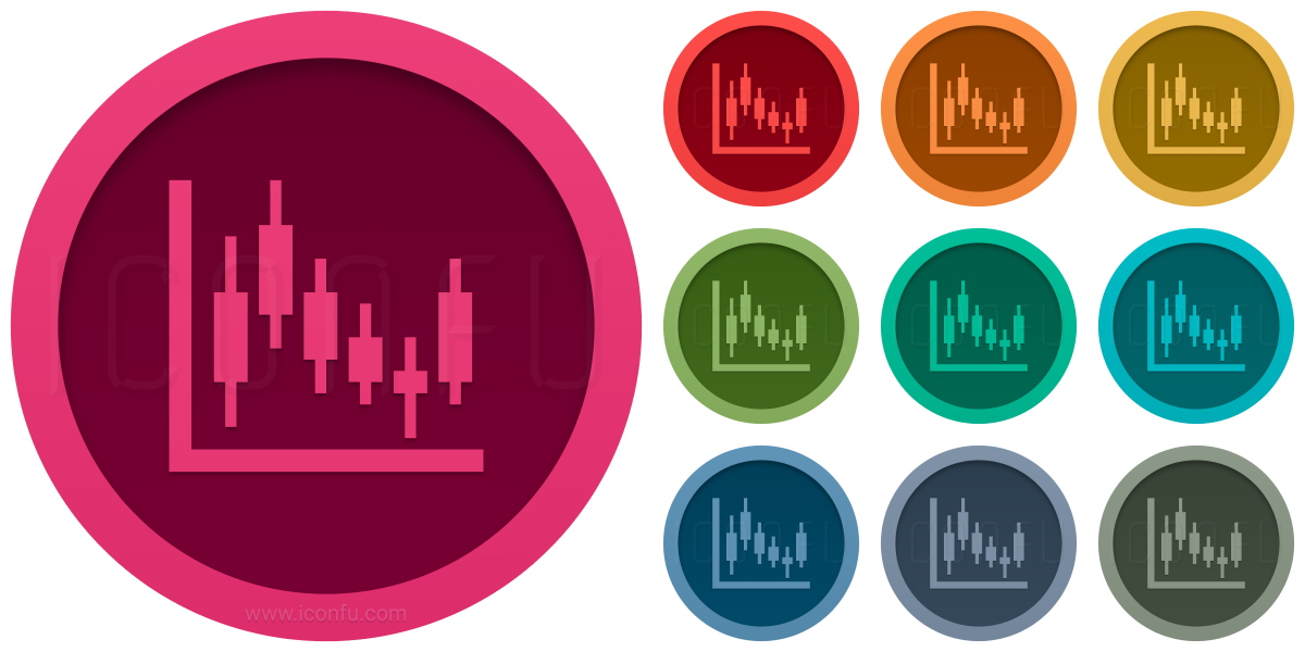 Chart Candlestick Icon
