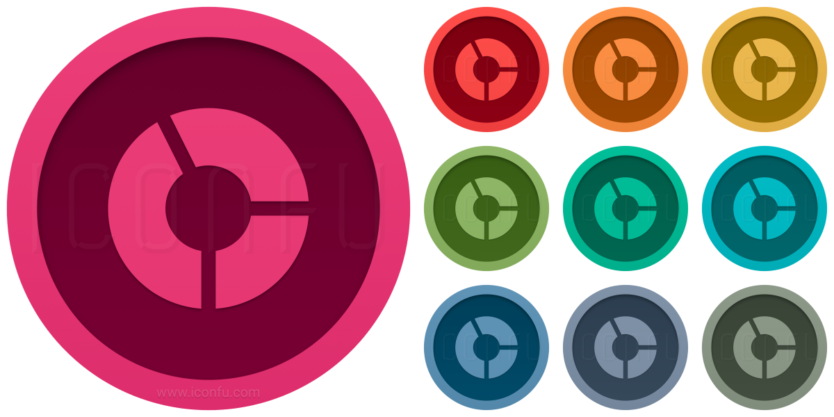 Chart Donut Icon