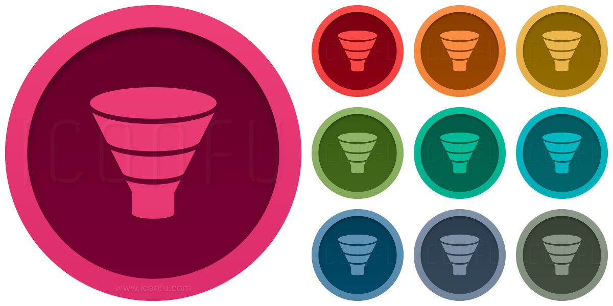 Chart Funnel Icon