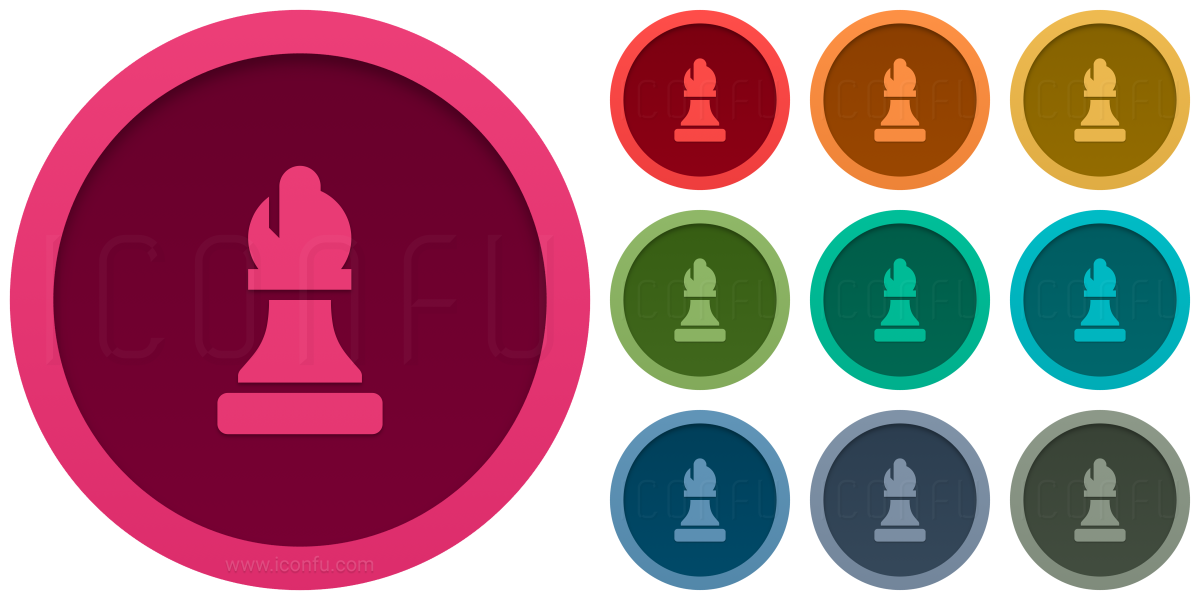 Chess Piece Bishop Icon