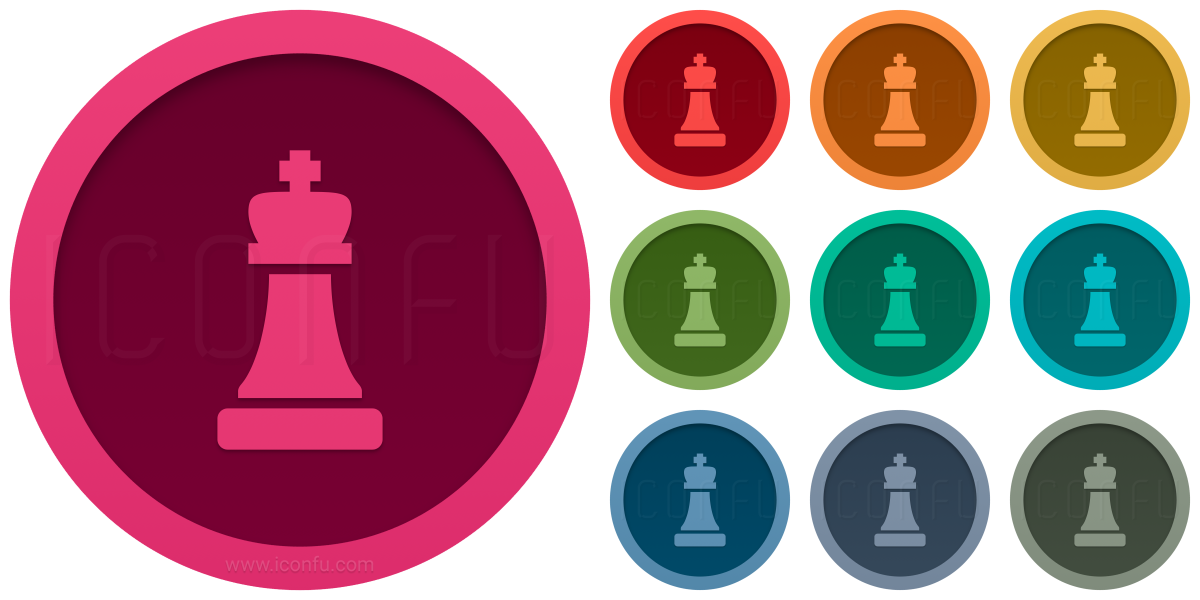 Chess Piece King Icon