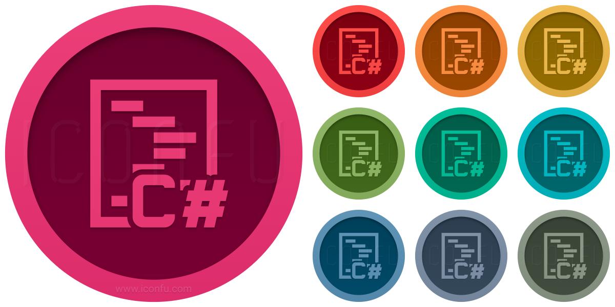 Code Csharp Icon