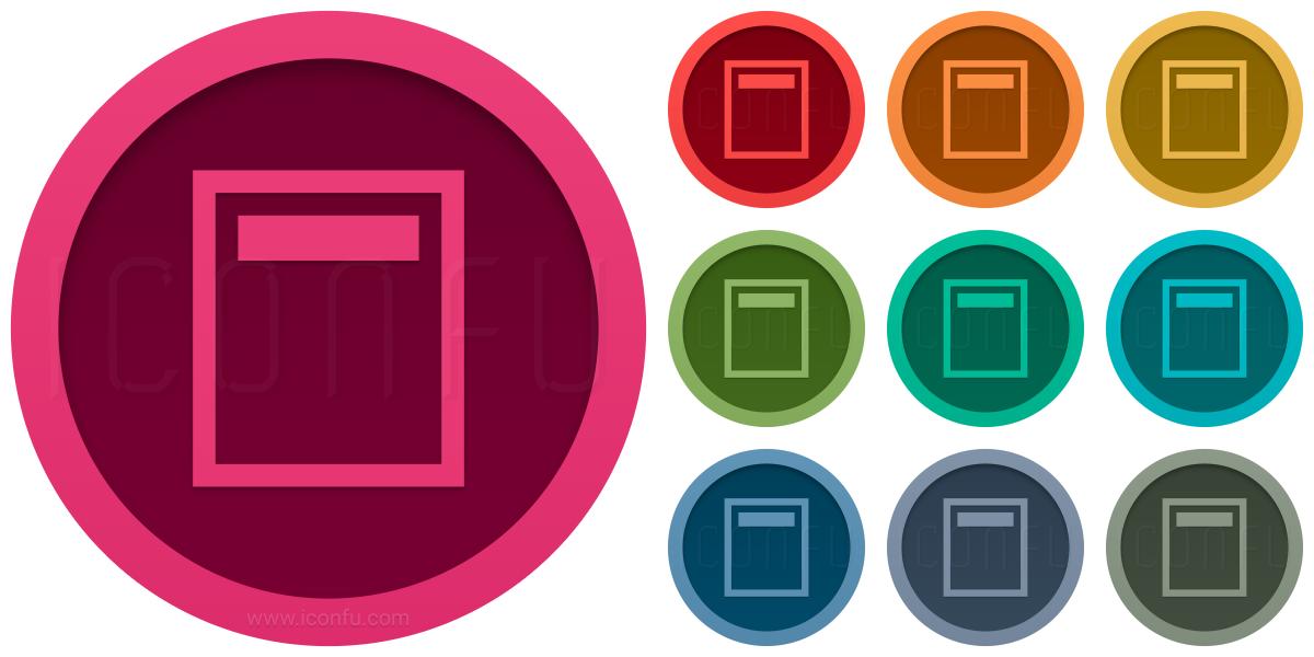 Document Header Icon