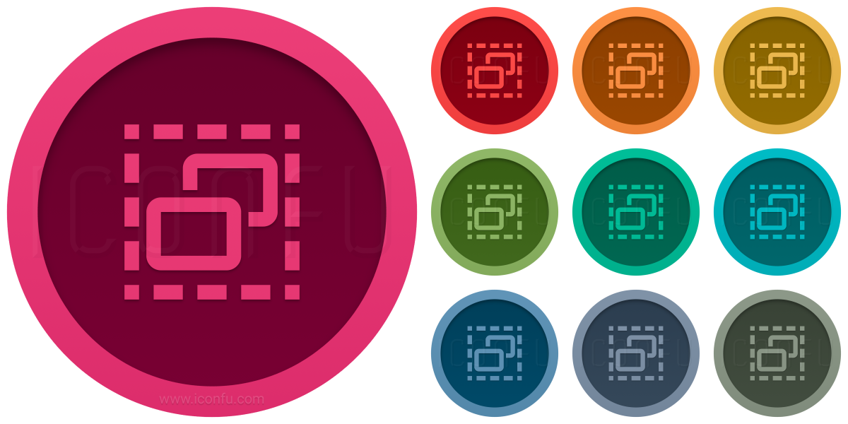 Elements Selection Icon