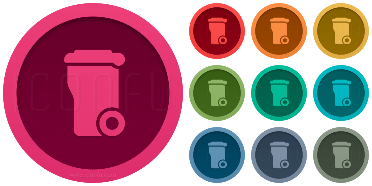 Garbage Container Icon
