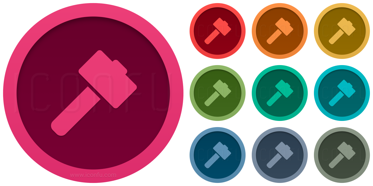 Hammer Sledge Icon