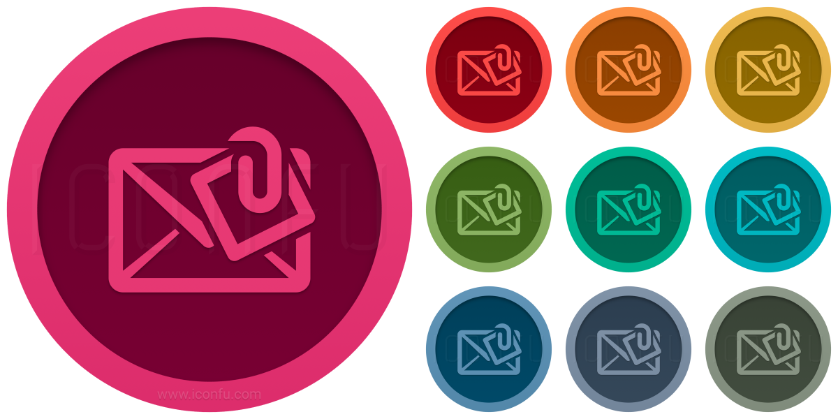 Mail Attachment Icon