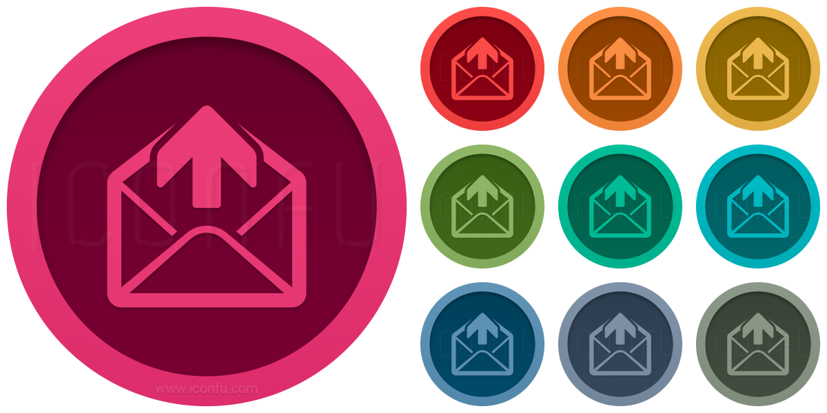 Mail Out Icon