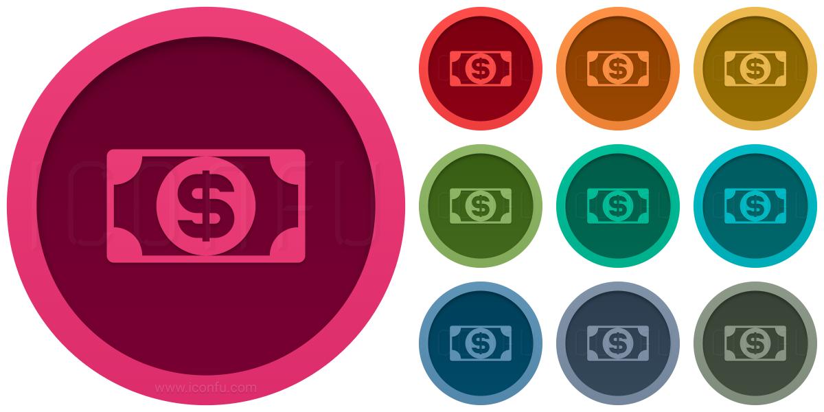 Money Bill Dollar Icon